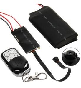Mini Draadloze Camcorder / Camera met afstandsbediening(Black)