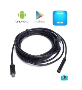 D-tec Waterproof Micro USB Endoscoop voor Android - 2 meter